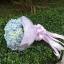 ช่อดอกไม้ไฮเดรนเยีย สีฟ้า โอกาสวันเกิด (M) thumbnail 2