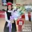 ช่อดอกไม้ โอกาสแสดงความยินดี โทนสีม่วงพาสเทล (XL) thumbnail 2