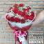 ช่อดอกกุหลาบสีแดงกำมะหยี่ (L) thumbnail 2