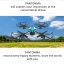 DRONE โดรนติดกล้อง pantonma สีฟ้า/สีทอง โดรนที่ได้ รางวัลการออกแบบ เรดดอทปี 2560 รีโมทสุดเท่ เสียบมือถือได้ไว้ดูภาพ realtime thumbnail 4