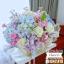 กล่องดอกไม้ ชมพูฟ้า พาสเทล (L) thumbnail 3