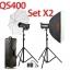 QS400 Set 400W X2 Professional Flash Godox Studio Kit ชุดแฟลชสตูดิโอ thumbnail 1