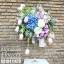 แจกันดอกไม้วันเกิด ทิวลิป-ไฮเดรนเยีย (XL) thumbnail 2