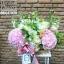 กล่องดอกไม้ ชมพู ขาว เขียว(L) thumbnail 1