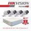 Hikvision SET 4 CH 1 mp. thumbnail 1