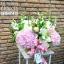 กล่องดอกไม้ ชมพู ขาว เขียว(L) thumbnail 2