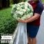 ช่อดอกกุหลาบขาว ไซส์ใหญ่ (XL) thumbnail 4