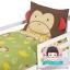 ชุดผ้าปูที่นอน 4 ชิ้น ลายลิง thumbnail 1