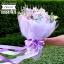 ช่อดอกไม้ ม่วง ชมพูซากุระ (L) thumbnail 2