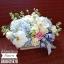 กล่องดอกไม้ ฟ้า ขาว พาสเทล (M) thumbnail 2