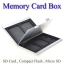 Card Box Aluminum for Memory SDx2 MicroSDx3 CompactFlashx2 กล่องเก็บเมมโมรี่ thumbnail 1