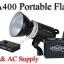 TA400 Portable Double Power Studio Strobe Flash Light 400Ws thumbnail 1