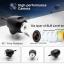 โดรนติดกล้อง SYMA X8W FPV Real-Time คอปเตอร์สี่ใบพัดติดกล้องถ่ายภาพมุมสูงสีดำ (black) thumbnail 9