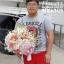 แจกันดอกไม้วันเกิด ไฮเดรนเยีย-ซากุระ (L) thumbnail 3
