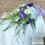 ช่อดอกไม้ โอกาสแสดงความยินดี โทนสีม่วงพาสเทล (XL) thumbnail 1