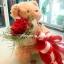 ช่อดอกไม้ตุ๊กตาหมี ตัวเล็ก (S) thumbnail 2