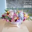กระเช้าดอกไม้ โอกาสแสดงความยินดี (XL) thumbnail 3