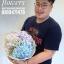 ช่อดอกไม้ พาสเทล 3 สี (M) thumbnail 3