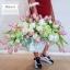 กระเช้าดอกไม้ แสดงความยินดี ทิวลิป (XL) thumbnail 3