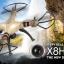 โดรนติดกล้อง Syma X8HW WIFI FPV 0.3MPกล้อง 2.4กิกะเฮิร์ตซ์4CH 6แกนGyro ลอคความสูงได้บินนิ่ง มีไวไฟควบคุมผ่านมือถือ thumbnail 3