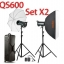 QS600 Set 600W X2 Professional Flash Godox Studio Kit ชุดแฟลชสตูดิโอ thumbnail 1