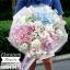ช่อดอกไม้ หวานๆ กุหลาบ ไฮเดรนเยีย (L) thumbnail 1