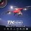 โดรนติดกล้อง tk110 mavic วาดเส้นทางการบินได้ WiFi FPV 720P HD พร้อมระบบถ่ายทอดสดแบบ Realtime(มีระบบ ล็อกความสูง) สีแดง thumbnail 4