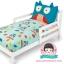 ชุดผ้าปูที่นอน 4 ชิ้น ลายนกฮูก thumbnail 1