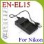 USB EN-EL15BatteryChargerแท่นชาร์จสำหรับแบตเตอรี่กล้องNikon EN-EL15กล้องรุ่นD7200 D600 D750 D800e D810 thumbnail 1