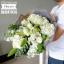 ช่อดอกไม้ ขาว เขียว (L) thumbnail 2