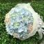 ช่อดอกไม้ ไฮเดรนเยีย ฟ้า-ชมพู พาสเทล (M) thumbnail 3