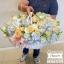 กระเช้าดอกไม้ ฟ้า พาสเทล (XL) thumbnail 3