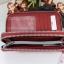 Kipling Uzaio Red Rust เป็นกระเป๋าสตางค์ใบยาวแบบ 2 ซิปรอบ ขนาด 10 L x 18.5 H x 3.5 W cm thumbnail 6