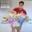 กระเช้าดอกไม้ แสดงความยินดี โทนสีสดใส (XL) thumbnail 3