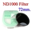 Neutral Density ND 1000 (10 Stop ND) ND1000 Filter 72mm. thumbnail 1