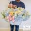 กระเช้าดอกไม้ ฟ้า พาสเทล (XL) thumbnail 1