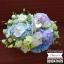 กระเช้าดอกไม้ ม่วง ฟ้า ขาว (L) thumbnail 3