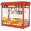 ตู้ป๊อปคอร์น เครื่องทำป๊อปคอร์น มี 2 หม้อคั่วในตู้เดียว