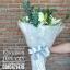 ช่อดอกไม้ กุหลาบขาว ลิลลี่ (M) thumbnail 3