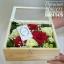 กล่องดอกไม้ กล่องไม้กระจกใส (L) thumbnail 1