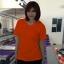 เสื้อยืดคอวี สีส้ม รอบอก 32 นิ้ว เบอร์ S