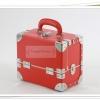 กระเป๋าเครื่องสำอางดีไซน์เมคอัพอาร์ทติสท์ สไตล์เกาหลี สีแดง Size S Made in Korea อินเทรนด์ในซีรี่ยส์เกาหลีค่ะ (Pre-order)