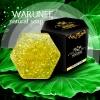 warunee natural soap ขนาด 100 กรัม (ก้อนทรงหกเหลี่ยม)