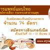เปิดสอบ กรมพัฒนาการแพทย์แผนไทยและการแพทย์ทางเลือก