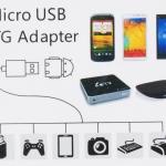 สาย OTG (USB OTG)