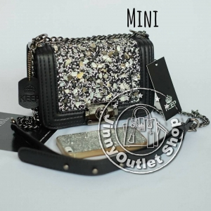 KEEP ( Shoulder Diamond Chain Bag - Mini )