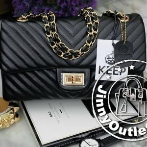 KEEP ( Shoulder Chevon Chain Handbag )