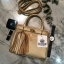 KEEP ( Saffiano Office Hand Bag With Frink Key-Right Gold ) thumbnail 3