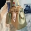 KEEP ( Saffiano Office Hand Bag With Frink Key-Right Gold ) thumbnail 4