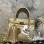 KEEP ( Saffiano Office Hand Bag With Frink Key-Right Gold ) thumbnail 1